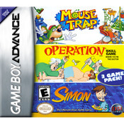 Complete Mouse Trap/Operation/Simon Video Game for GBA