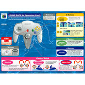 Wave Race 64 - N64 Operation Card