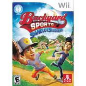 Backyard Sports Sandlot Sluggers Video Game for Nintendo Wii