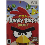 Angry Birds Trilogy Video Game for Nintendo Wii