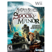 Mortimer Beckett and the Secrets of Spooky Manor Video Game for Nintendo Wii