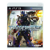 Transformers Dark of the Moon Video Game for Sony PlayStation 3