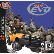 4x4 Evo Video Game for Sega Dreamcast