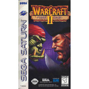 WarCraft II The Dark Saga Video Game for Sega Saturn