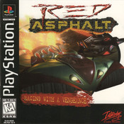 Red Asphalt Video Game for Sony PlayStation