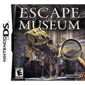 Escape the Museum Video Game for Nintendo DS