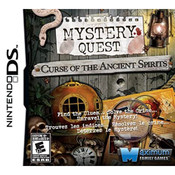 Mystery Quest Curse of the Ancient Spirits Video Game for Nintendo DS