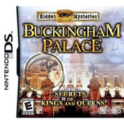 Hidden Mysteries Buckingham Palace Video Game for Nintendo DS