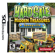 Yard Sale Hidden Treasures Sunnyville Video Game Nintendo DS