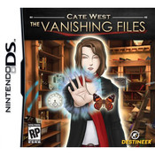 Cate West The Vanishing Files Video Game for Nintendo DS