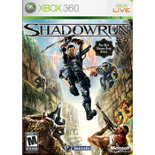 ShadowRun Video Game for Microsoft Xbox 360