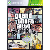 Grand Theft Auto San Andreas Video Game for Microsoft Xbox 360