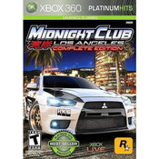 Midnight Club Los Angeles Complete Edition Video Game for Microsoft Xbox 360