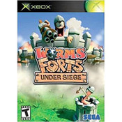 Worm Forts Under Siege Video Game for Microsoft Xbox