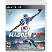 Madden NFL 16 Video Game for PlayStation 3