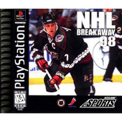 NHL Breakaway 98 Video Game for Sony PlayStation