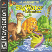 Land Before Time Big Water Adventure Video Game for Sony PlayStation