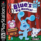 Blue's Clues Blue's Big Musical Video Game for Sony PlayStation