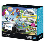 Complete Mario & Luigi 32GB Deluxe Set in Box - Wii U