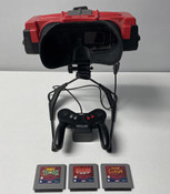 Virtual Boy System, Controller, and Games