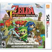 Legend of Zelda Tri Force Heroes Video Game for Nintendo 3DS