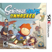 Scribblenauts Unmasked Video Game for Nintendo 3DS