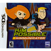 Kim Possible Kimmunicator Video Game for Nintendo DS