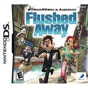 Flushed Away Video Game for Nintendo DS