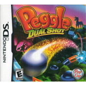 Peggle Dual Shot Video Game for Nintendo DS