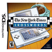 New York Times Crosswords Video Game for Nintendo DS