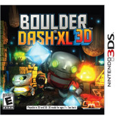Boulder Dash-XL 3D Video Game for Nintendo 3DS