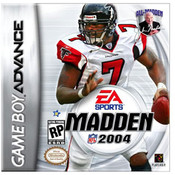 Complete Madden 2004 Video Game for GBA