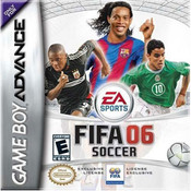 Complete FIFA Soccer 06 Video Game for GBA