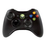 Official Xbox 360 Controller Wireless Black - Xbox 360