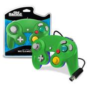 New Green on Blue Luigi Replica Controller - GameCube / Wii