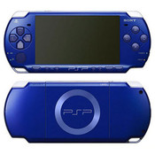 Sony PSP 2000 Handheld System Cobalt Blue w/ Charger