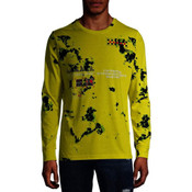 Nintendo Entertainment System Yellow Marbled - Officially Licensed Long-Sleeved T-Shirt