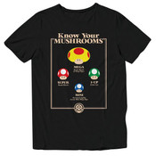 Know Your Mushrooms - Officially Licensed T-Shirt