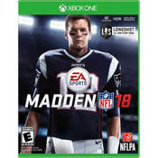 Madden 18 Video Game for Microsoft Xbox One