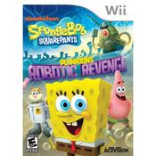 Spongebob Squarepants Plankton's Robotic Revenge Video Game for Nintendo Wii