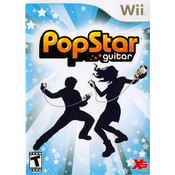 PopStar Guitar Video Game for Nintendo Wii