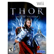 Thor God of Thunder Video Game for Nintendo Wii