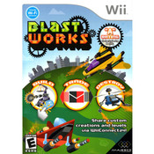 Blast Works Video Game for Nintendo Wii Game