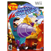 Phineas and Ferb Quest for Cool Stuff Video Game for Nintendo Wii