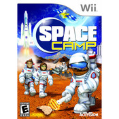 Space Camp Video Game for Nintendo Wii