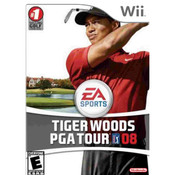 Tiger Woods PGA Tour 08 Video Game for Nintendo Wii
