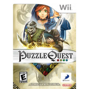 Puzzle Quest Challenge of the Warlords Video Game for  Nintendo Wii