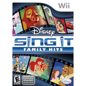 Disney Sing It Family Hits - Wii Game