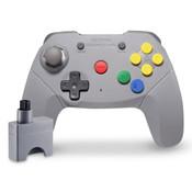 Wireless Brawler Controller for Nintendo 64 Gaming System