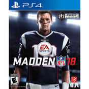Madden 18 Video Game for Sony PlayStation 4